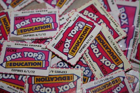 Box Tops Contest Starts in September!
