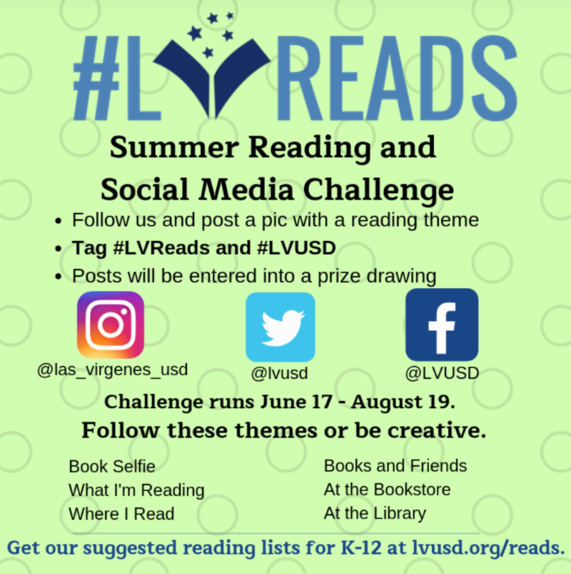 Join #LVReads for the Summer!