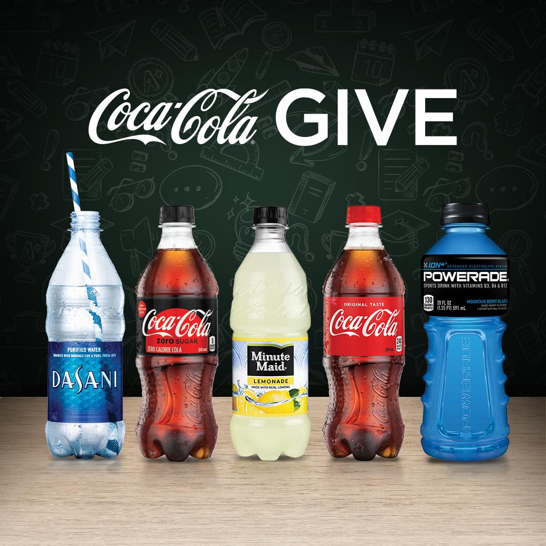 Coke Give
